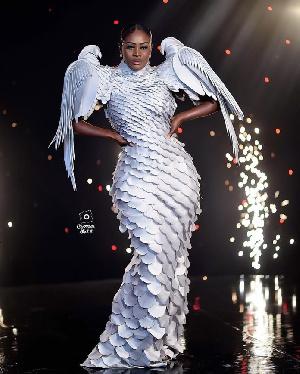 Nana Akua Addo at the Glitz Awards