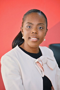 Abena Osei-Poku, Managing Director of Barclays Bank Ghana
