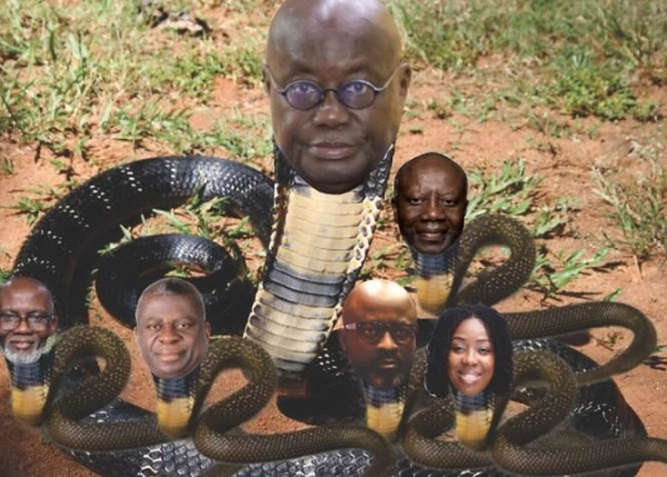 Mother serpent of corruption: Amidu's new name for Akufo-Addo trends on social media