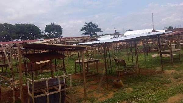 Satellite market at Kakpayili