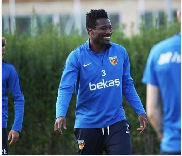 Asamoah Gyan reveals interest in joining politics