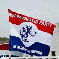 New Patriotic Party flag.