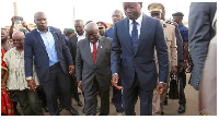 Faure met Nana Addo in Togo early this year before the crisis in the country had started