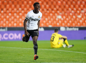Valencia midfielder Yunus Musah