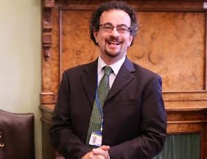 Jon Benjamin, British High Commissioner to Ghana