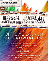Official poster of Kossi Akplah and Friends Live in Comedy show