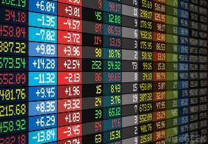 The benchmark index, up by 2.42 points (+0.13%)