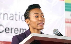 Zanetor Agyemang-Rawlings is the MP for the Klottey–Korle Constituency