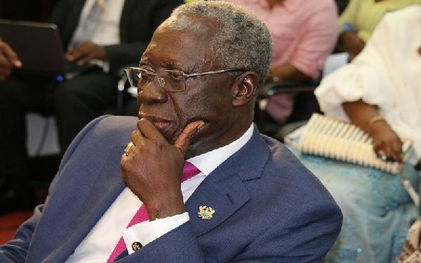 Coronavirus: Osafo Maafo debunks rumours, shows up in parliament