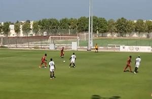 Kotoko are in action against Al Hilal
