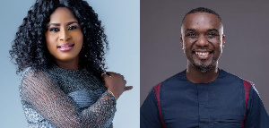 Patience Nyarko and Joe Mettle