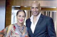 Boris Kodjoe and wife Nicole
