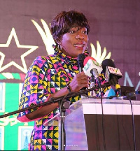 Madam Catherine Afeku, Former Minister for Tourism, Culture and Creative Arts