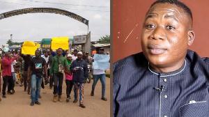 Sunday Igboho: Yoruba nation activist supporters warn Nigeria & Benin Republic
