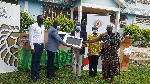 GASO Petroleum Limited donated computers to Huni-Valley Senior High School