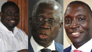 Kwadwo Gyamfi Osafo Maafo, Yaw Osafo Maafo And Kofi Bosompem Osafo Maafo
