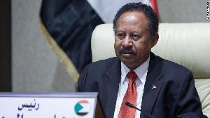 Sudan's Prime Minister Abdalla Hamdok chairs an emergency cabinet session in the capital Khartoum