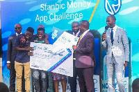 Aminu Abdul Manaf, wins Stanbic App Challenge