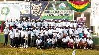 The tournament has international golfers from Senegal and Cote divoire