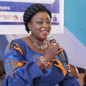 Dr Freda Prempeh, Minister of State in-charge of Works and Housing