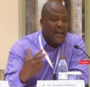 Ibrahim Mahama, CEO of Engineers & Planners