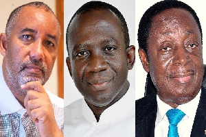 File photo: Some top candidates for Mahama's 2020 running mate