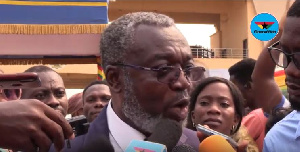 A presidential advisor on health, Dr Anthony Nsiah-Asare