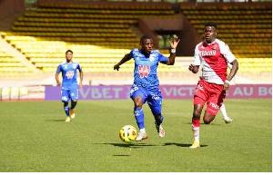 Black Stars striker, Abdul Majeed Waris