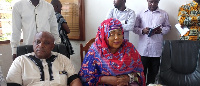 Hajia Seidu finally gets endorsed after several attempts by some individuals to foil the process