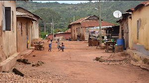 File photo of rural Ghana