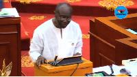 Finance Minister Ken Ofori Atta is due present government's third budget on Thursday