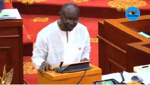 Ken Ofori Atta Budget 2018