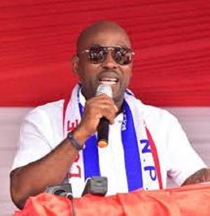 Makafui Kofi Woanyah, Volta Regional Chairman of the New Patriotic Party
