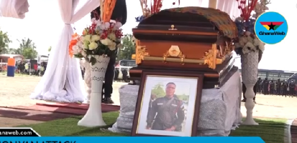 Bullion van attack: Slain police officer posthumously promoted to Lance Corporal rank