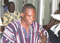 Member of Parliament for Nkwanta North, John Bless Oti