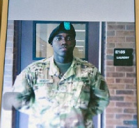 Private Emmanuel Mensah died in the Bronx inferno tryng to rescue other people in the building