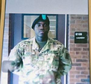 Soldier Ghana Emmanuel Mensah