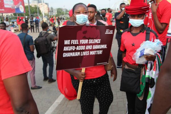 All what happened during NDC's March for Justice