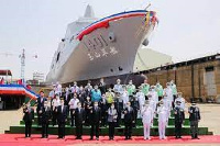 The ship was designed and built based on the needs of Taiwan's national defence combat training