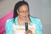 File: Mrs Lordina Mahama
