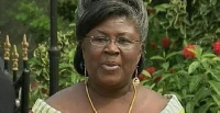 Theresa Kufuor, the wife of the former President John Agyekum Kufuor