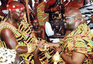 Dele Momodu Meets Otumfuo