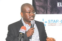 GIBA President, Mr Akwasi Agyemang