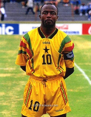 Abedi won the African Footballer of the Year award 3 times