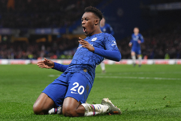 allum Hudson-Odoi has been directly involved in 11 goals in his 13 starts