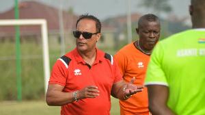 Asante Kotoko Coach, Mariano Barreto Gh