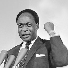 Kwame Nkrumah is the first Prime Minister and President of Ghana