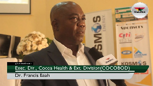 Dr. Francis Baah was speaking on the sidelines of the New Year School at University of Ghana