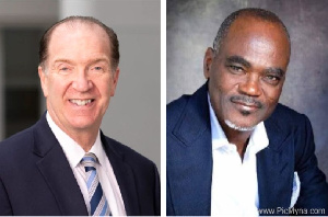 David Malpass and Citizen Kofi Amoah