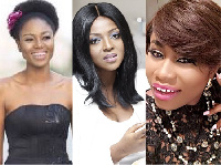 Yvonne Nelson, Yvonne Okoro and Lydia Forson